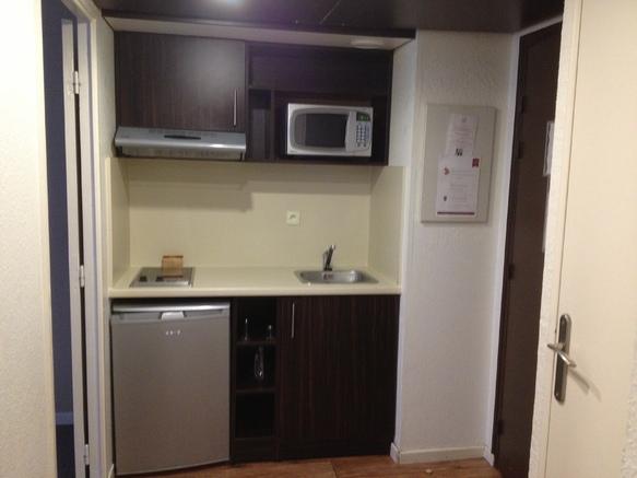 Cuisine Studio et appartement