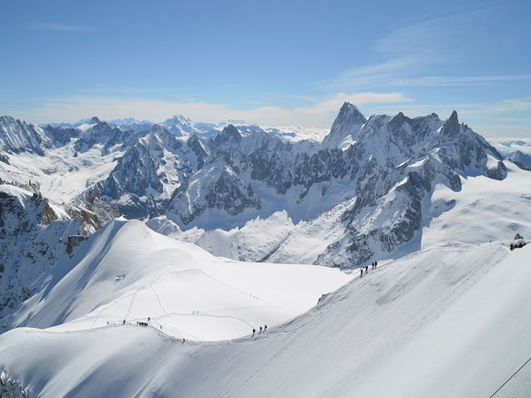 T l ph rique de l 39 aiguille du midi savoie mont blanc - Chamonix mont blanc office du tourisme ...