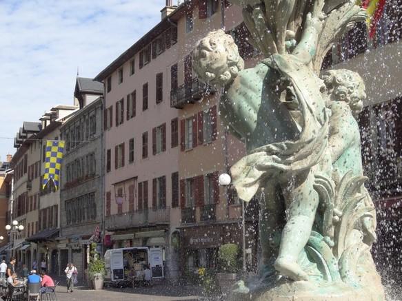 La place Saint Léger