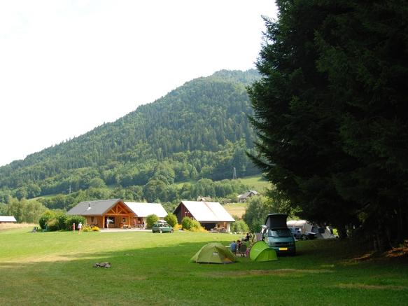 Aire naturelle du Val de Tamié les Combes