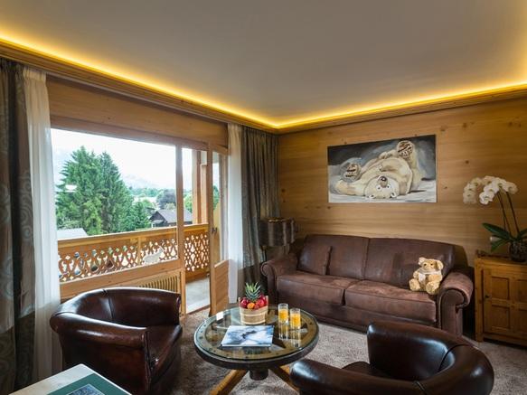 Salon suite luxe