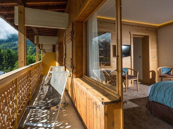 Balcon suite luxe