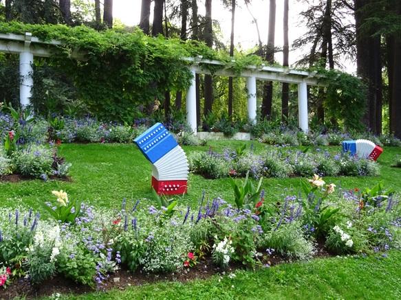 Pergola du parc floral des Thermes