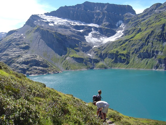 Les Becchi lac été