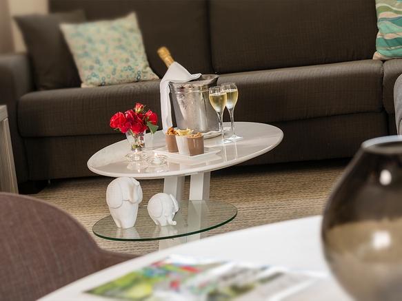 Aix-les-Bains Riviera des Alpes - Hotel 4* - Salon de la suite