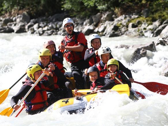Rafting découverte à Passy
