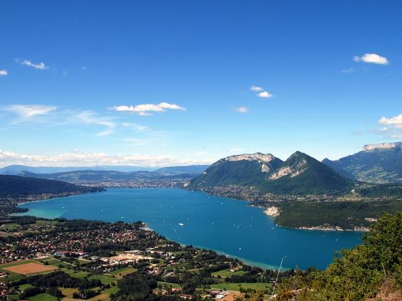 Vue du Lac d'Annecy