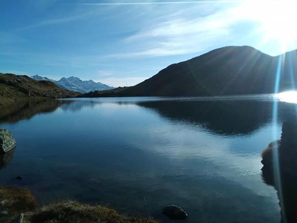 parcours trail du lac Noir