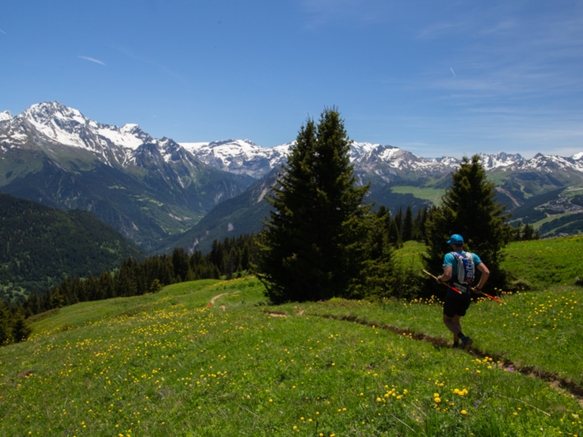 Trails Bozel - Mont Jovet
