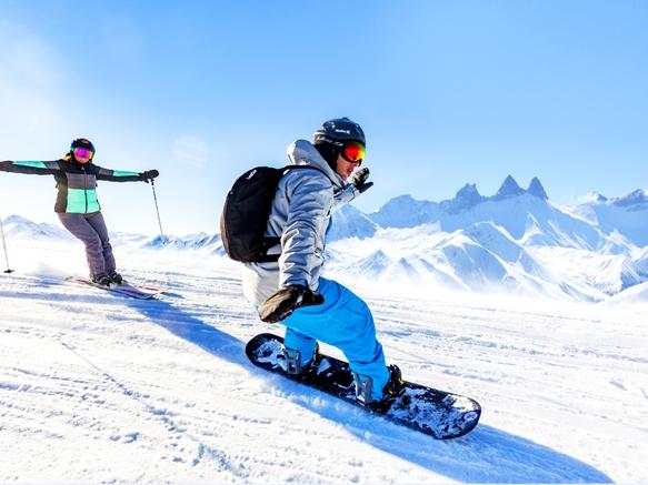 Domaine skiable des Sybelles