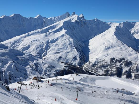 Valloire - domaine skiable Galibier-Thabor