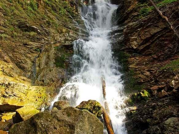 Cascade d'Ardent à Montriond