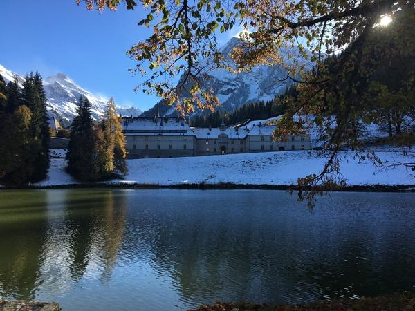 La Caronière - randonnée hivernale