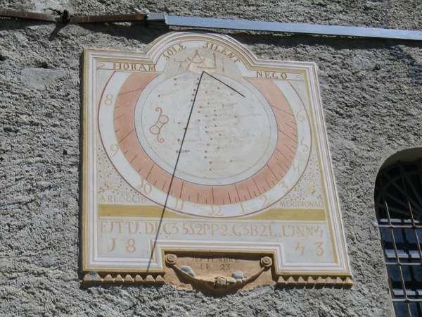 Cadran solaire d'Entraigues image
