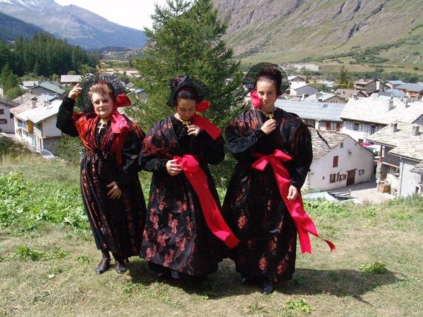 Fête traditionnelle du 15 août à Bessans image
