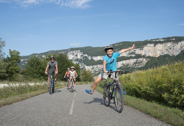 La ViaRhôna, une véloroute à découvrir en famille