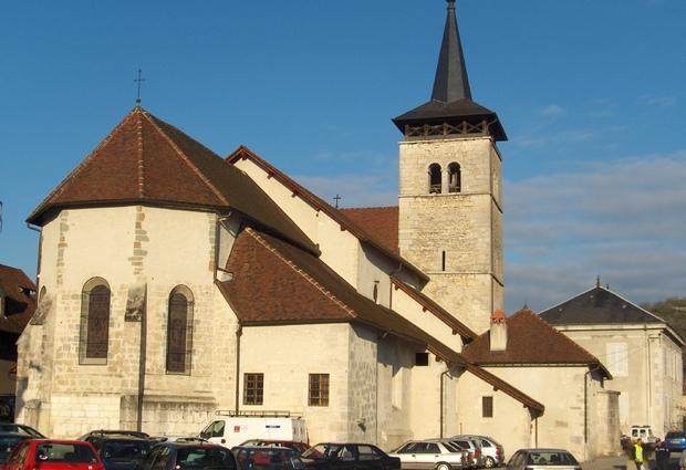 Eglise classée de Yenne