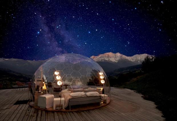 Une nuit insolite dans la Bulle - Nuit Nature