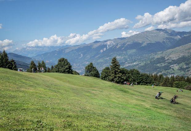 Trail -  Arc 1800 vers Tour du golf