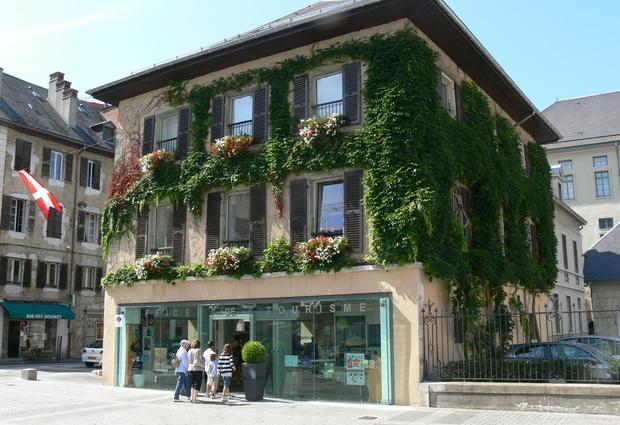 Grand Chambéry Tourisme - Accueil de Chambéry