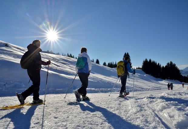 Agy/ La Borde randonnée raquettes hiver