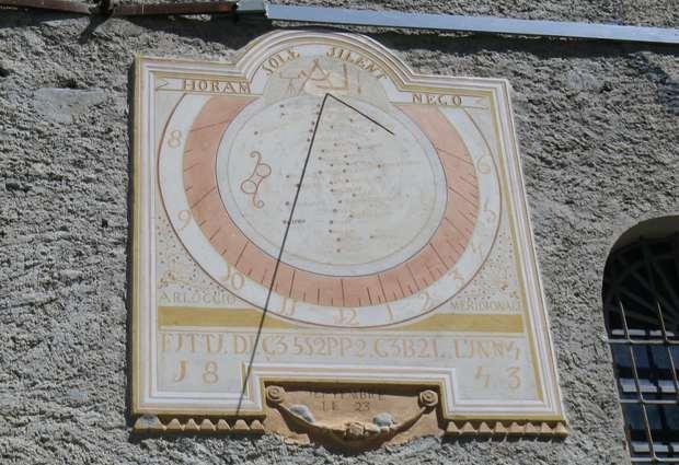Cadran solaire d'Entraigues
