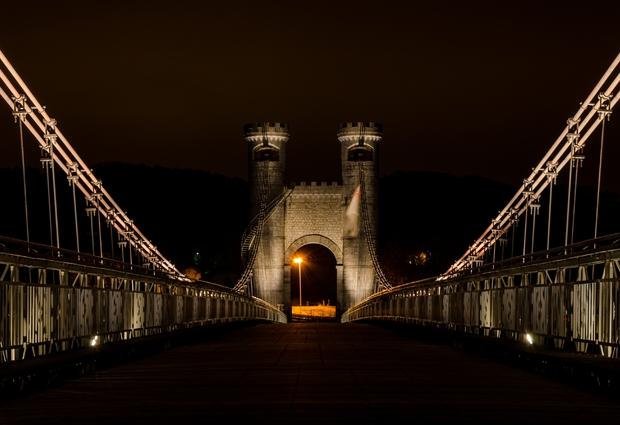 Le Pont de la Caille - Charles Albert