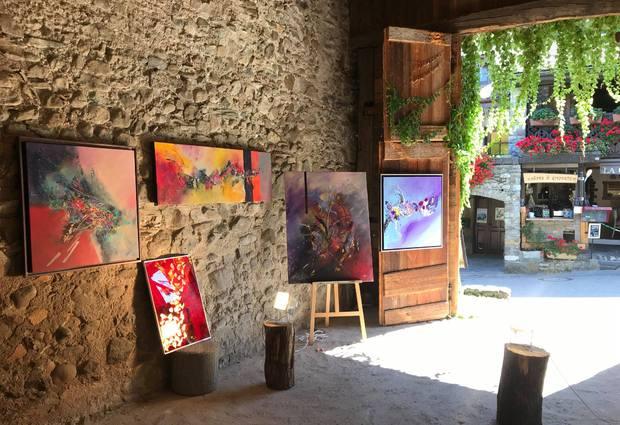 Les expositions estivales de la Grange à Marie