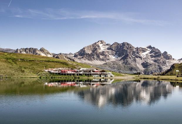 Le lac de l'Ouillette
