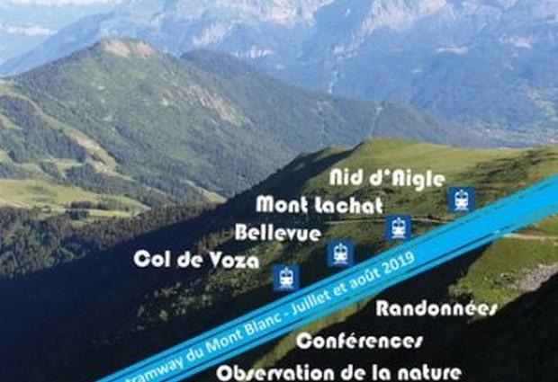 Animation - « la montagne se dévoile » sur le parcours du tramway du Mont-Blanc