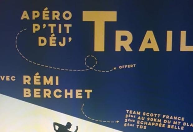 Apéro - P'tit déj TRAIL avec Rémi Berchet