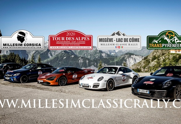 Départ et arrivée du Rallye Tour des Alpes