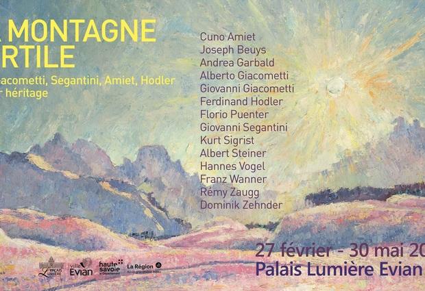 Exposition « La montagne fertile : les Giacometti, Segantini, Amiet, Hodler, et leur héritage »