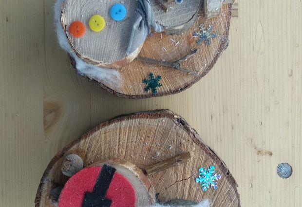 Atelier créatif enfant autour du bois