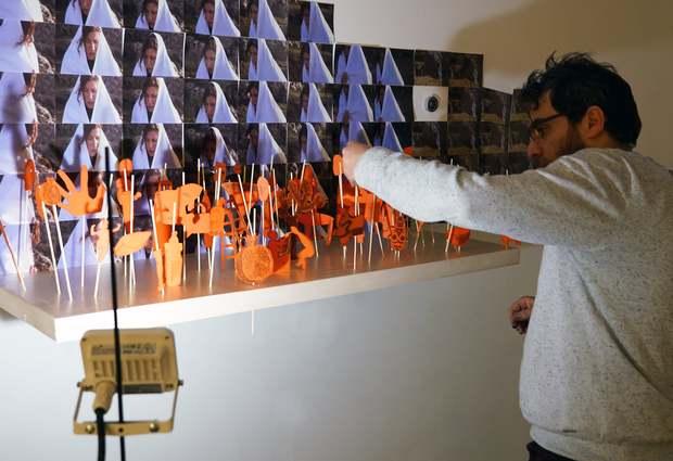 Expo : Traversée de Noureddine Benhamed