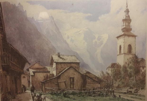 Visite guidée du village d'Argentière et de son église baroque