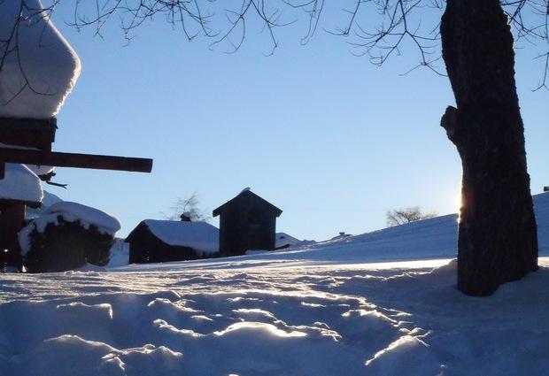 Tour du Pare - randonnée raquettes hiver
