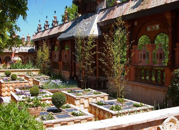 Jardin arlequin