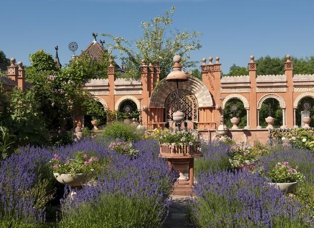 Arches jardin de curé