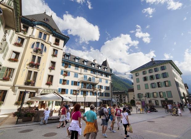 Grand hôtel de Alpes chamonix - exterieur été