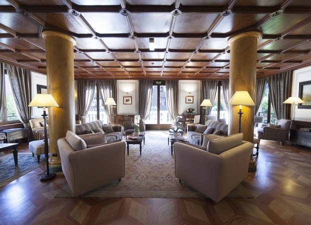 Grand hôtel de Alpes chamonix -  salon