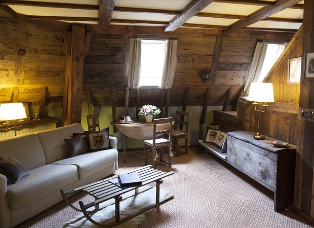 Grand hôtel de Alpes chamonix -  suite ancienne tour 2