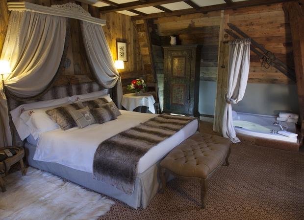 Grand hôtel de Alpes chamonix -  suite ancienne tour