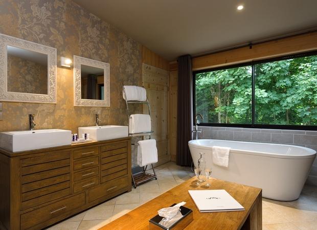 Chambre luxe - Salle de bain