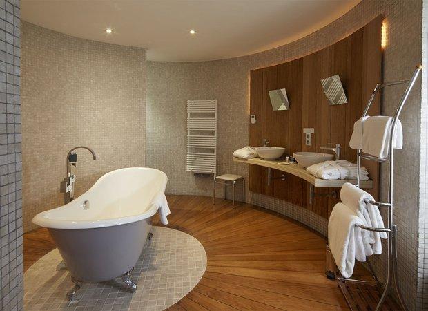 Salle de bain suite La Tour
