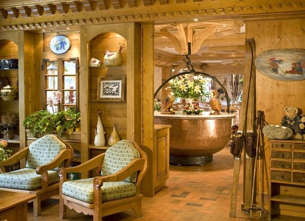 Salon et restaurant