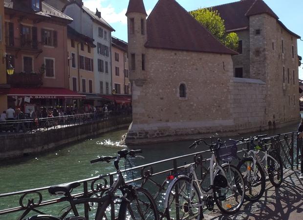 Arrivée à Annecy