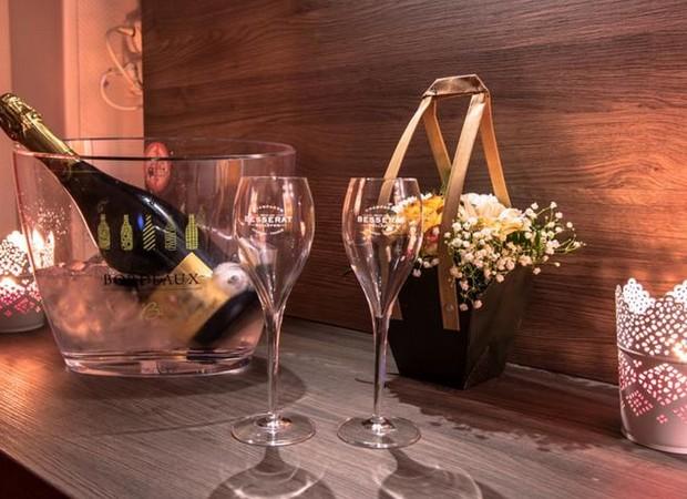 champagne sur demande