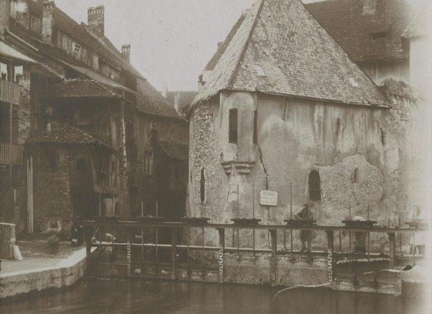 Annecy, Palais de l'Ile à la fin du 19e siècle