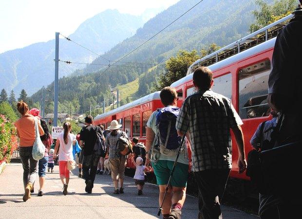 Gare de départ du train